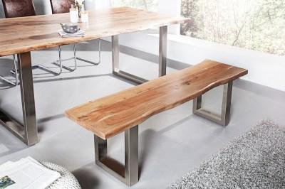 Designová lavice Massive 160 cm Akácie