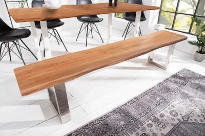 Designová lavice Massive Honey 200 cm akácie