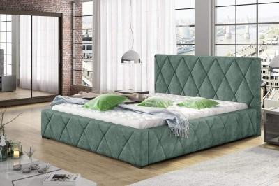 Designová postel Kale 160 x 200 - 8 barevných provedení