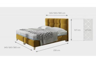 designova-postel-uriah-rozmery