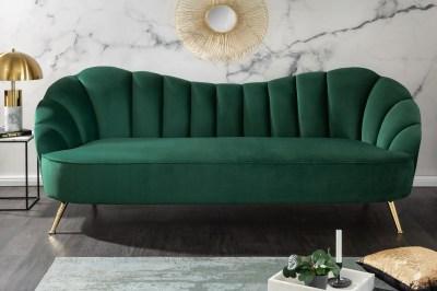 Designová sedačka Adalia 220 cm zelená