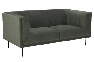 Designová sedačka Darcila 172 cm šedo-zelená