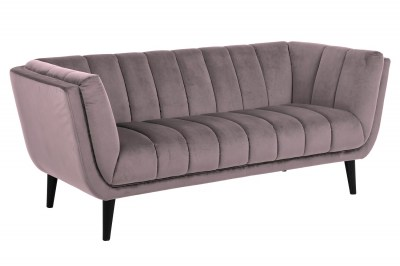 Designová sedačka Raquel 184 cm růžová
