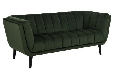 Designová sedačka Raquel 184 cm zelená