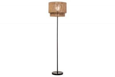 Designová stojanová lampa Desmond 150 cm papírový ratan