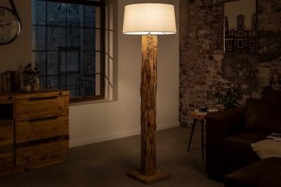 Designová stojanová lampa Nash přírodní