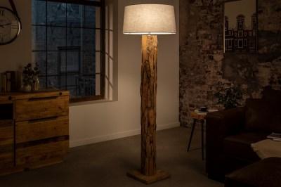 Designová stojanová lampa Nash šedá