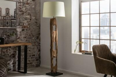 Designová stojanová lampa Shark 177 cm bílá