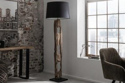 Designová stojanová lampa Shark 177 cm černá