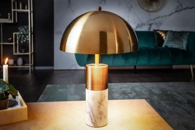 Designová stolní lampa Aamira 52 cm zlatá