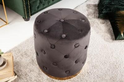 designova-taburetka-rococo-36-cm-cerna-1