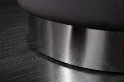 designova-taburetka-rococo-55-cm-cerna-stribrna-2