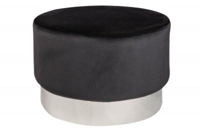 designova-taburetka-rococo-55-cm-cerna-stribrna-5