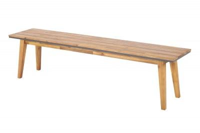 Designová zahradní lavice Gavino 180 cm akácie