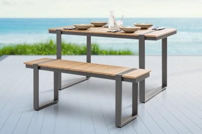 Designová zahradní lavice Gazelle 123 cm Polywood