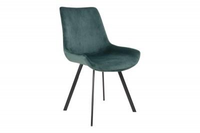 Designová židle Brinley zelený same