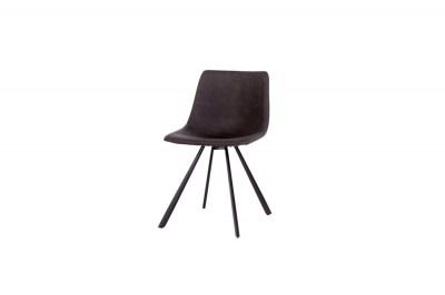 Designová židle Claudia tmavě šedá