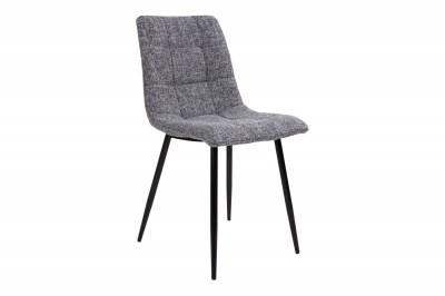 Designová židle Dominik šedá