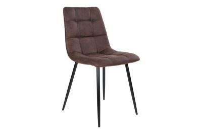 Designová židle Dominik tmavě šedá
