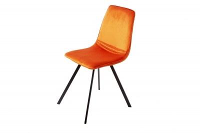 designova-zidle-holland-oranzovy-samet_003