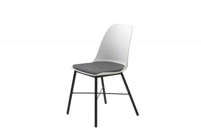 Designová židle Jeffery bílá
