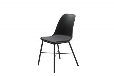 Designová židle Jeffery černá