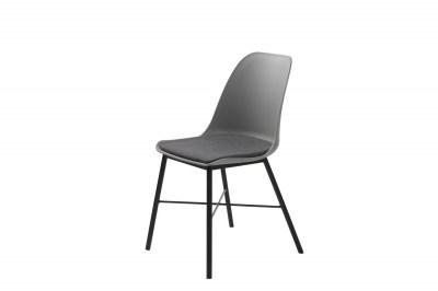 Designová židle Jeffery šedá