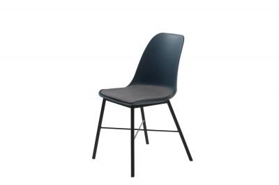 Designová židle Jeffery tmavě modrá