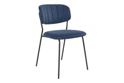 Designová stolička Rosalie modrá