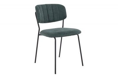 Designová stolička Rosalie zelená