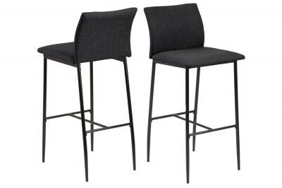 Designová barová židle Midena II šedá