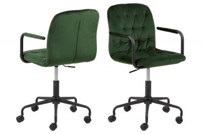 Designová kancelářská židle Zara zelená