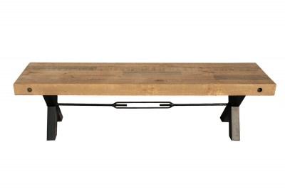 Designová lavice Thunder 170 cm přírodní - borovice