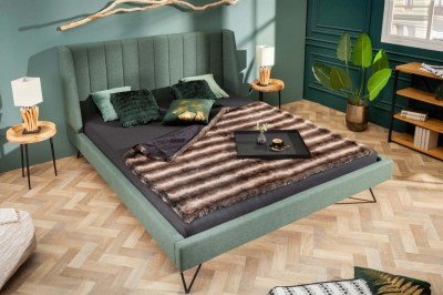 Designová postel Phoenix 160 x 200 cm zelená