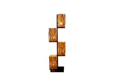 Designová stojanová lampa Leonel 149 cm longan