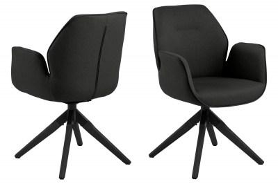Designová židle Ariella černá