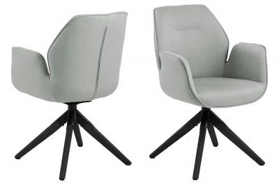 Designová židle Ariella šedá - černá