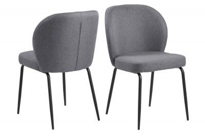 Designová židle Cindy šedá
