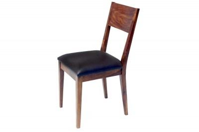 Designová židle Desmond hnědá sheesham