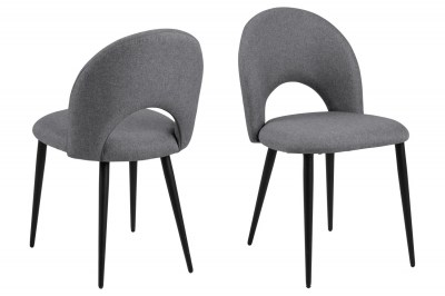 Designová židle Jaylene šedá