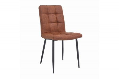 Designová židle Modern vintage hnědá