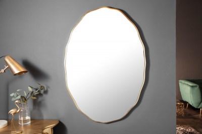 Designové nástěnné zrcadlo Cason 100 cm zlaté
