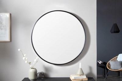 Designové nástěnné zrcadlo Daiwa 80 cm černé