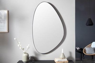 Designové nástěnné zrcadlo Daiwa 90 cm černé