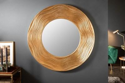 Designové nástěnné zrcadlo Dalton 100 cm zlaté