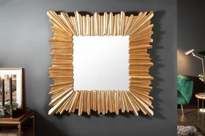 Designové nástěnné zrcadlo Kathleen 96 cm zlaté