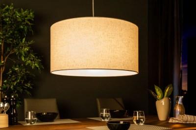 Designové závěsné světlo Nash, 50 cm, přírodní