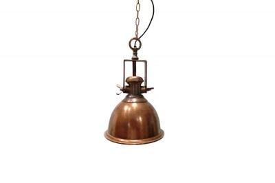 Designové závěsné svítidlo Commercial měděné