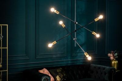 Designové závěsné svítidlo Walter černé