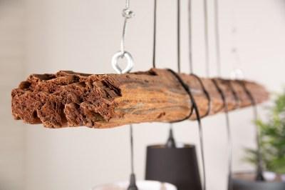 Designový dřevěný rám Shadow 115 cm naplavené dřevo